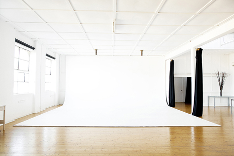 studio hire - cyclorama